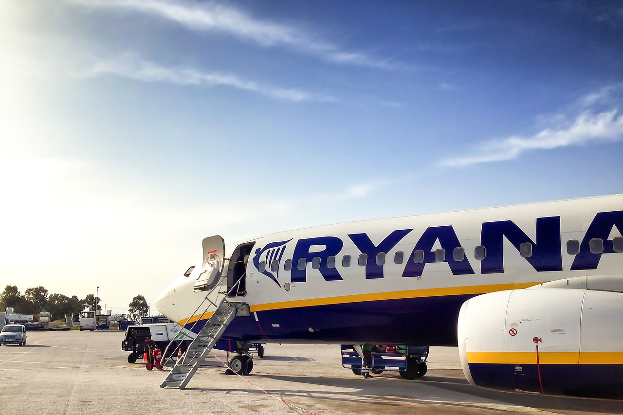 Baby On Board Ryanair Flight