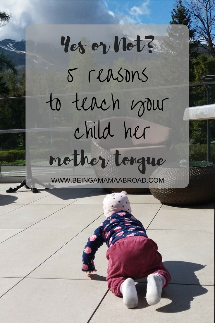 Teach Your Child Her Mother Tongue