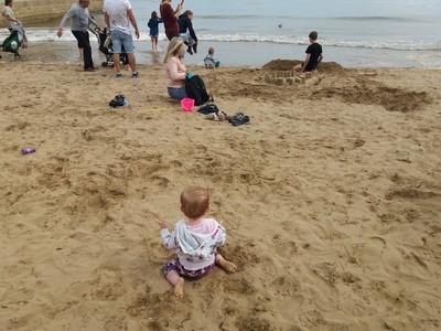 Summer At The British Seaside
