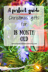 Christmas Gifts For 18 Month Old