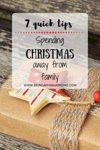 Spending Christmas Away From Family.